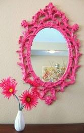 Pink Pop Mirror