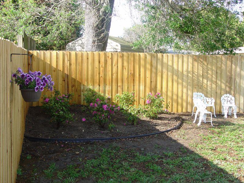 Backyard corner closer to completion